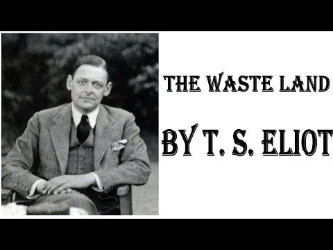 LIVE The Waste Land by T. S. Eliot – Full Free AudioBook, Summary BAC, Biography - YouTube