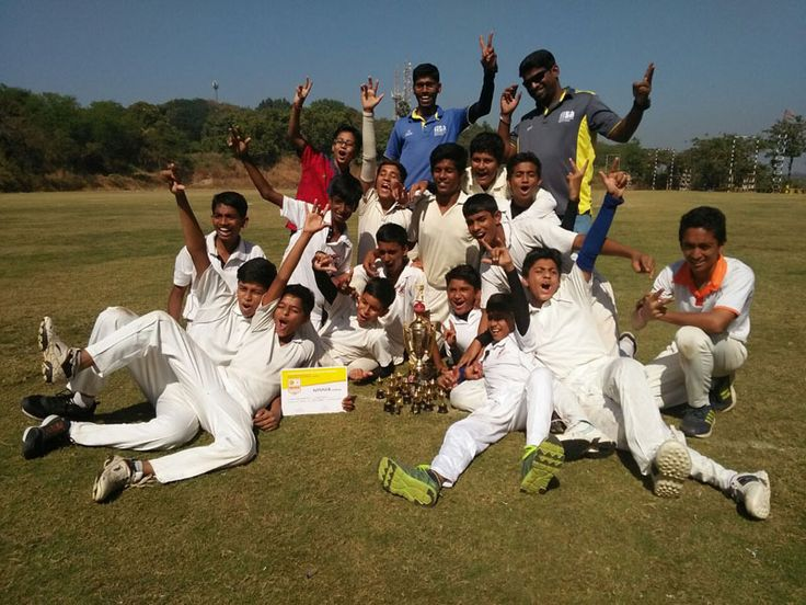 At Ram ratna cricket tournament, Rbk School won the final of Cricket match. Check out photos
