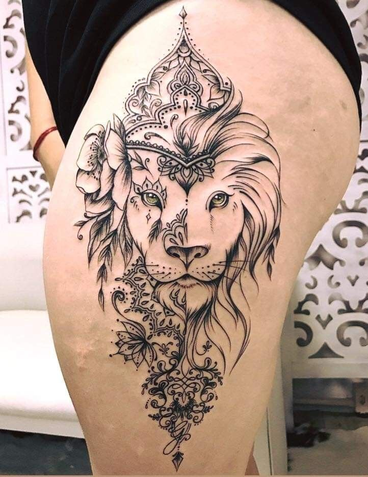 Pin by Bobbijo Queen on Tattoo Ideas Cool tattoos, Leo
