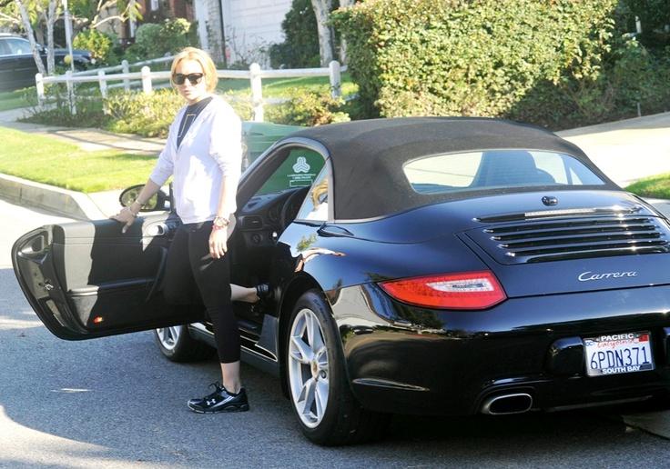 Lindsay Lohan S Porsche 911 Cabriolet Car Pinterest