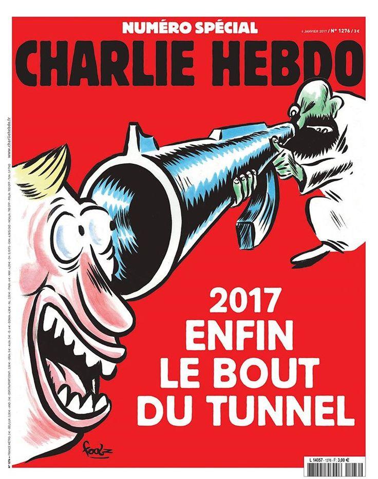 Charlie Hebdo - N° 1276 - Mercredi 4 Janvier 2017 - Couverture de Foolz