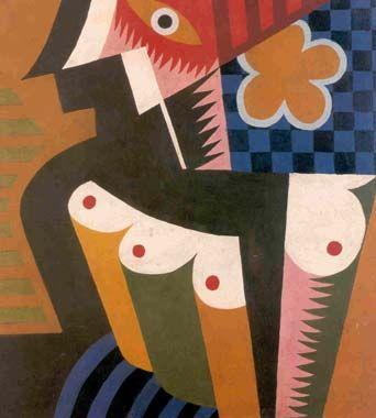 Fortunato Depero: Solidità geometriche di donna