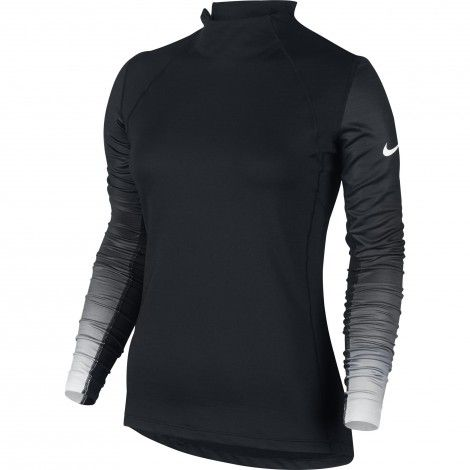 #Nike Pro Hyperwarm fitness #shirt dames