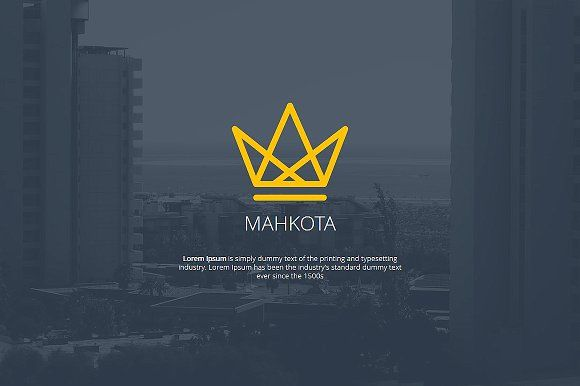 Mahkota PowerPoint Template by Angkalimabelas on @creativemarket