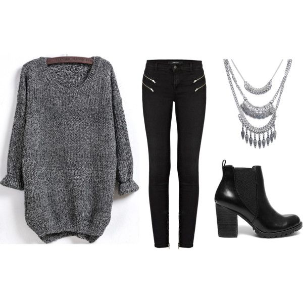 This would be my Tuesday look... by jadeclaire19 on Polyvore featuring J Brand, Steve Madden and Wet Seal