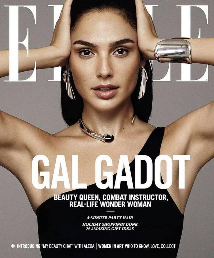 Gal Gadot for Elle US December 2017 | Art8amby's Blog