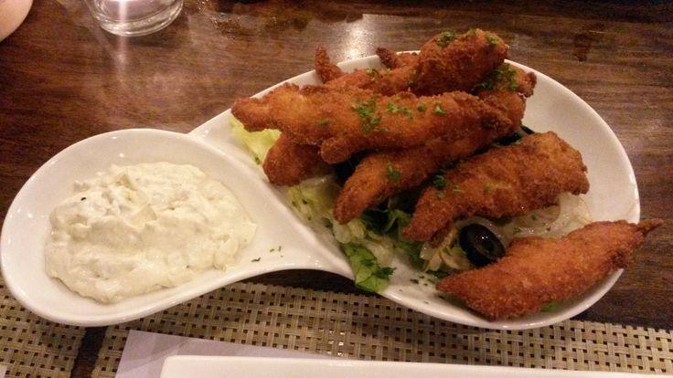 Fish Fingers with Tartar Sauce