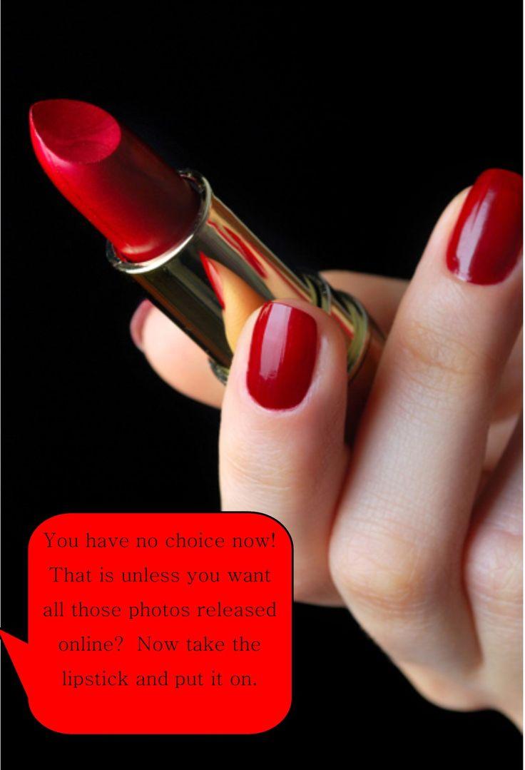 sissy lipstick