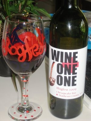 This is an inside joke I designed for my Blisters -- WINE-ONE-ONE!