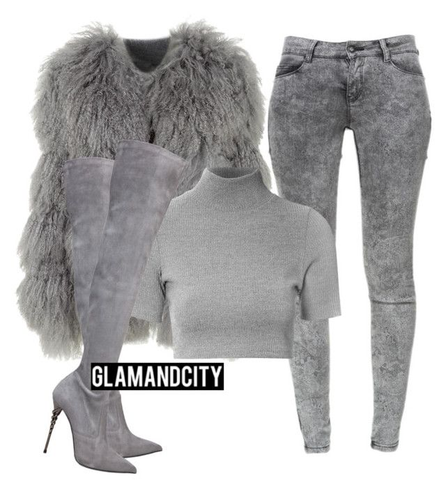 Untitled #397 by glamandcity on Polyvore featuring polyvore fashion style Glamorous Chloé Zara Le Silla