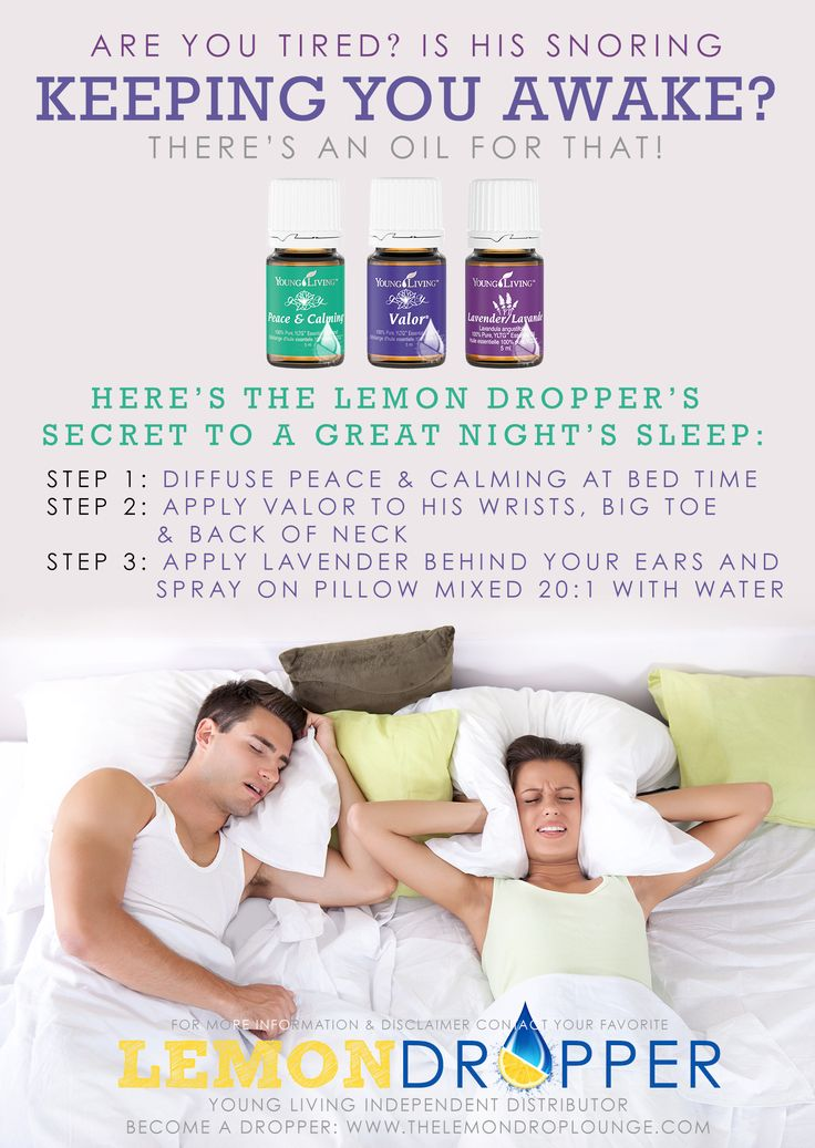 Oils to help with Snoring