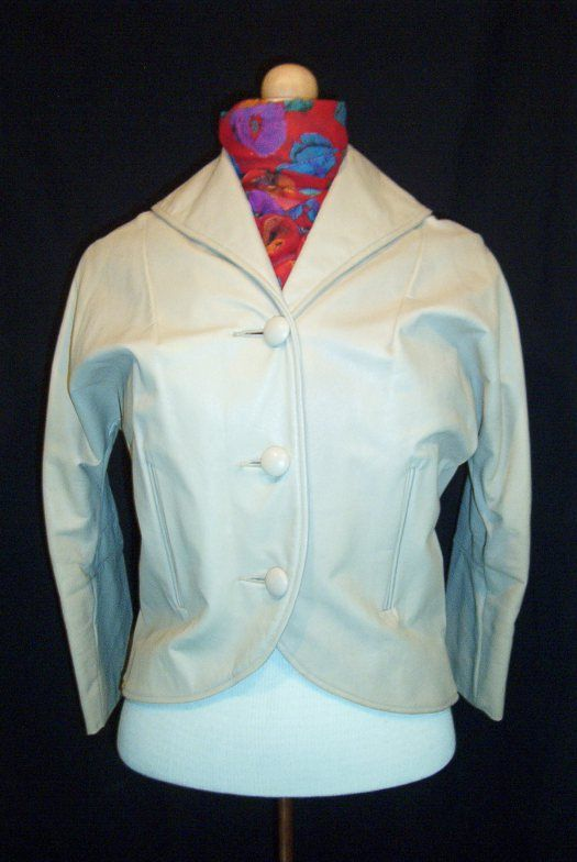 A FAB LEATHER JACKET FROM THE 1950'S