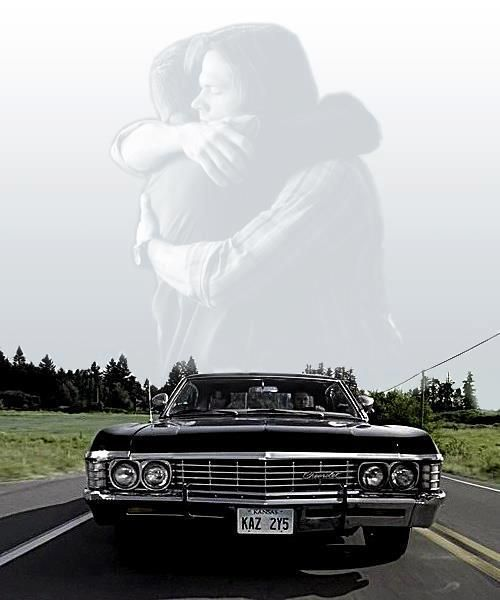 Supernatural.....2 men and a baby.