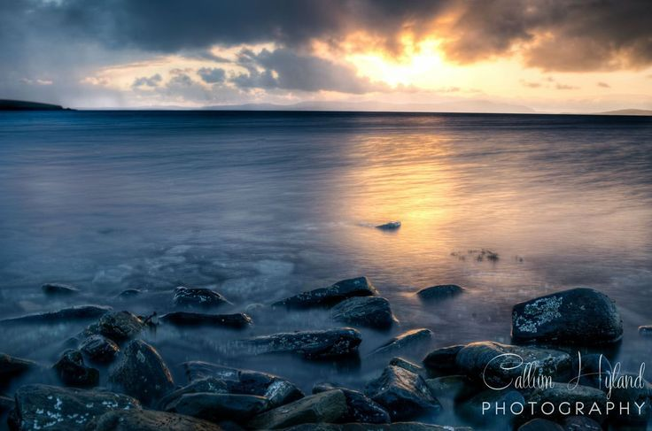 best photo of Orkney, Scotland - Ocean Sunset  http://earth66.com/exposure/orkney-scotland-ocean-sunset/