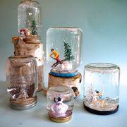 DIY Mason Jar Snow Globes | eHow