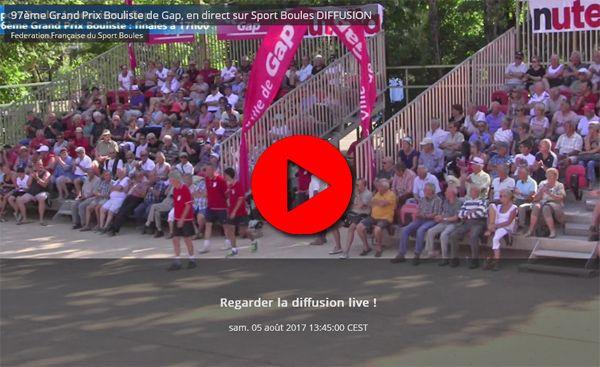"""""""Sport-Boules Lyonnaises:WebTV : au coeur de la Pépinière à Gap"""""""