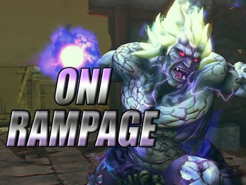 ONI RAMPAGE: 60 FPS Oni Online Ranked (Ultra Street Fighter 4)