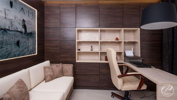 Apartament w Łomiankach  Miejsce do pracy.  Progetti Architektura