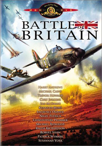 Battle of Britain -- DVD, Blu-Ray -- There's something about this film that's so irresistible, despite its grandiose manipulation. Maybe because it recounts the greatest air battle in history, achieving the greatest aerial battle in film history. Maybe because it has such a terrific cast. Maybe because it's so technically well-made. Regardless, it's one of the better WWII movies ever made. #WWII