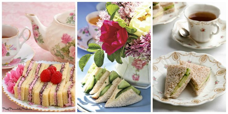 Tea Party Recipes - Finger Sandwiches Perfect for Afternoon Tea