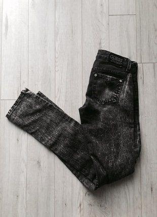 Kup mój przedmiot na #vintedpl http://www.vinted.pl/damska-odziez/rurki/15520676-marmurki-jeansowe-skinny-spodnie-markowe-guess-rozmiar-24