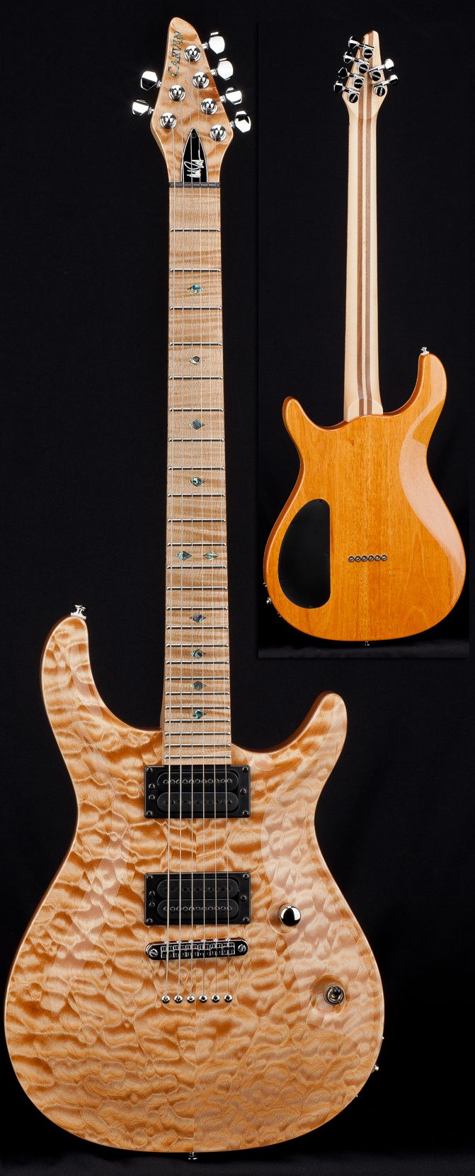 small resolution of carvin neil zaza signature 24 fret california carved top
