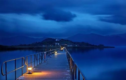 Agios Achillios small Prespa lake, Macedonia Hellas