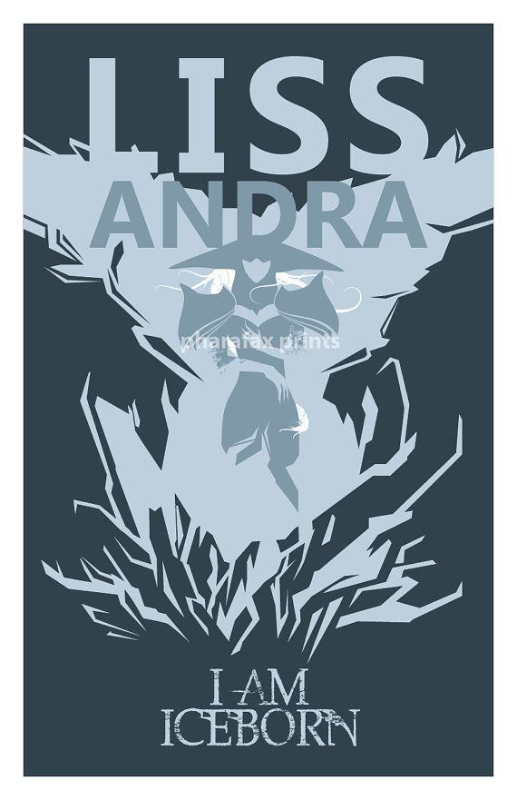 Lissandra League of Legends Print by pharafax on Etsy, $16.00