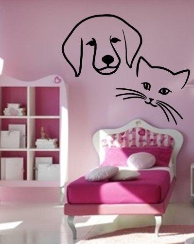 Best Cat Dog Mural Images On Pinterest Cat Art Dog Art And - Custom vinyl wall decals cats