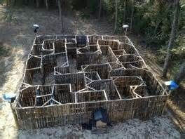 pallet maze - Yahoo Image Search Results | Haunt | Pinterest | Maze ...