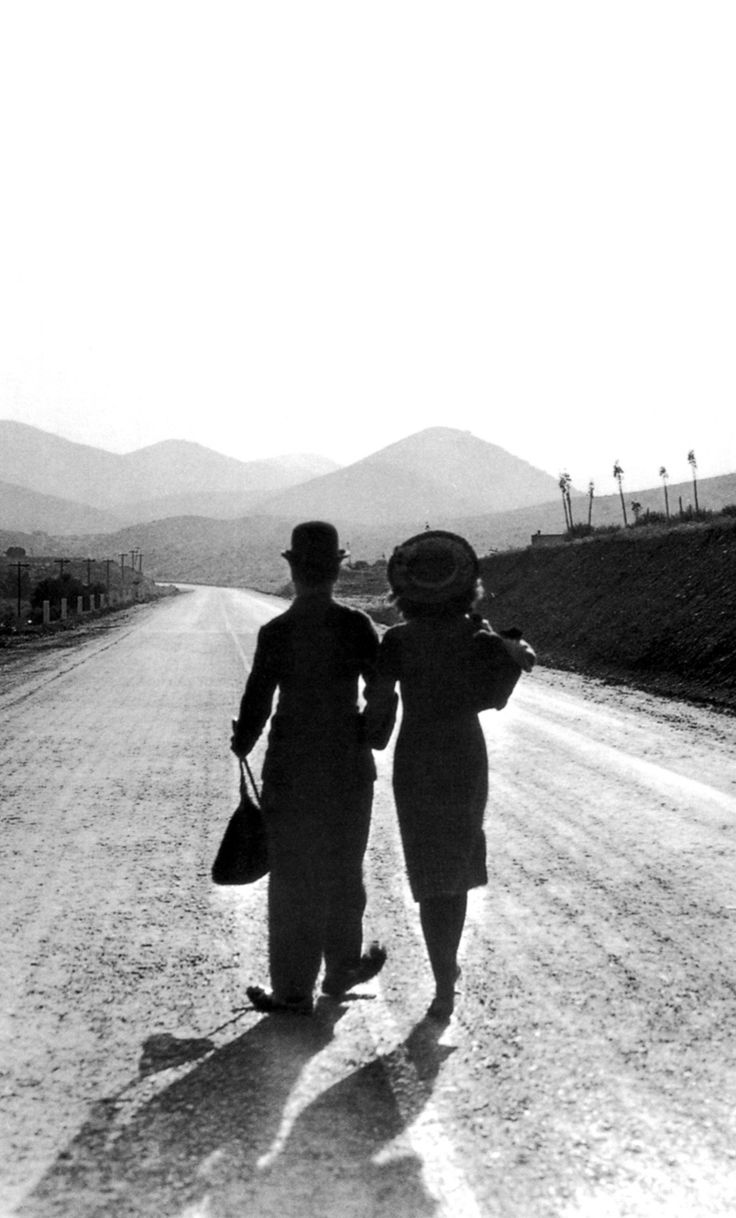 Chaplin he made backshots in movies, a legend