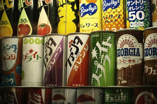 昭和の缶ジューズ
