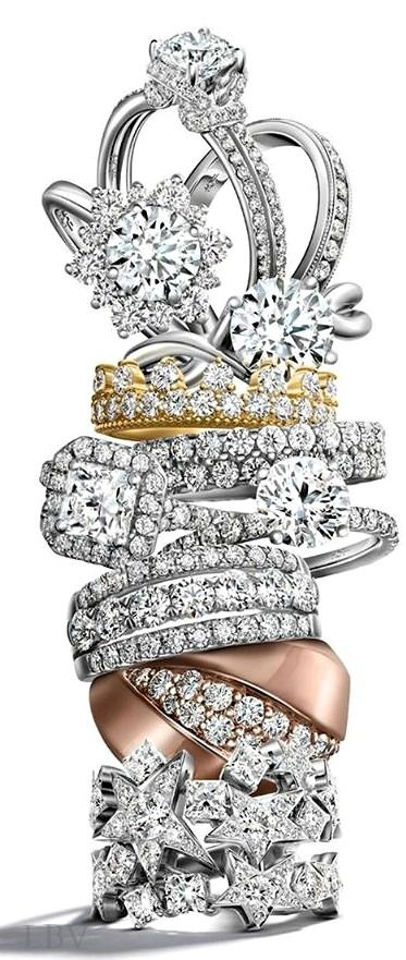 Hearts on Fire  | LBV ♥✤ http://www.charleskoll.com/product-category/wedding-bands/