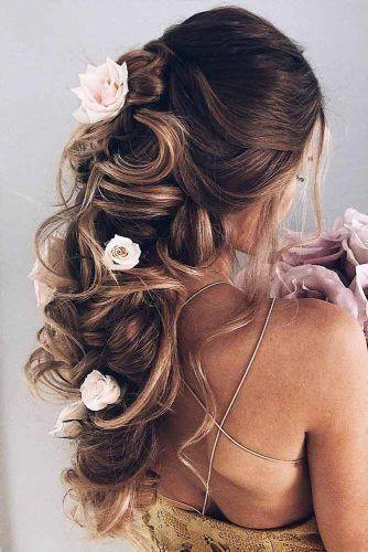 Versuchen Sie 42 Half Up Half Down Prom Frisuren - #frisuren #versuchen - #new