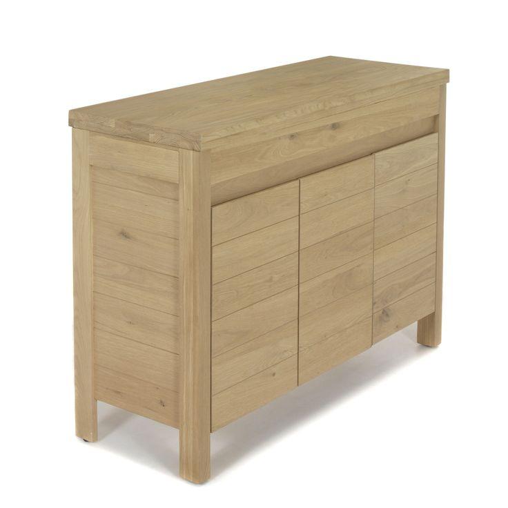 Meuble de salle de bains pour vasque à poser 119cm Naturel - Native - Les meubles sous-vasques - Les meubles de salle de bains - Salle de bains - Décoration d'intérieur - Alinéa