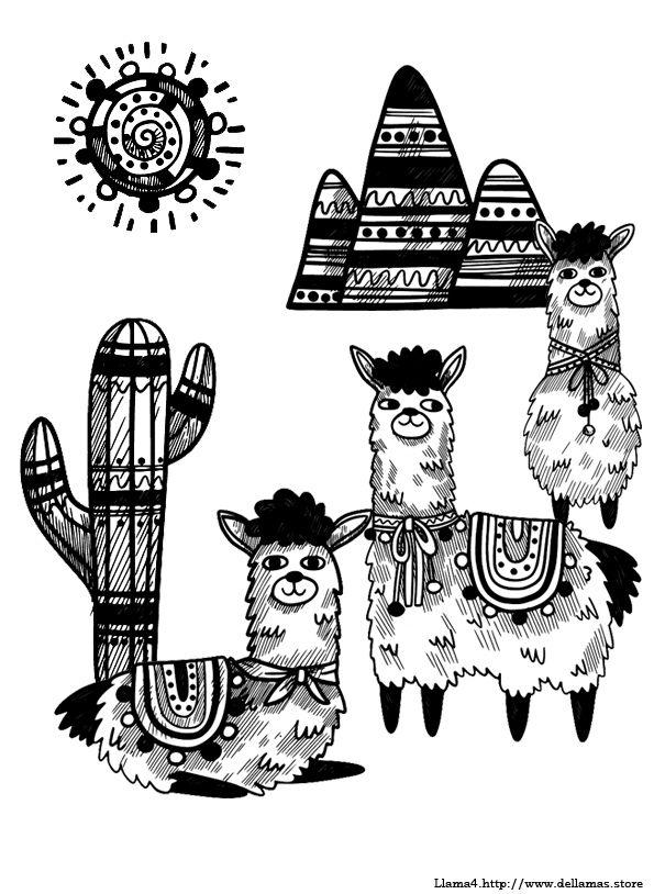 Imagenes De Llamas Para Dibujar
