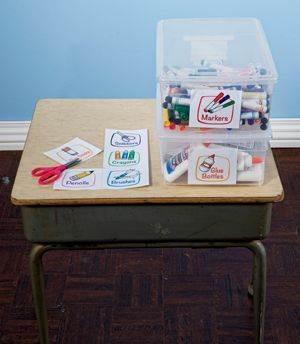 Printable  Labels for Classroom Supplies