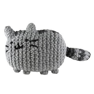 Pusheen Knitting Pattern : Pusheen the cat plushie (with free crochet pattern ...