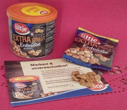 ültje - Extra Roast Erdnüsse gesalzen. Extra Roast Erdnüsse: Diese Sorte durchläuft ein Langzeitröstung und ist deshalb knackiger, dunkler und leicht bitterer als die anderen Erndnussorten. Zusätzl...