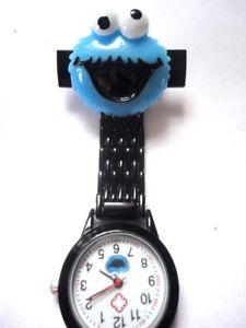 a cookie monster enfermera reloj negro esfera de imagenes de reloj esfera blanca cuidador estudiante veterinario