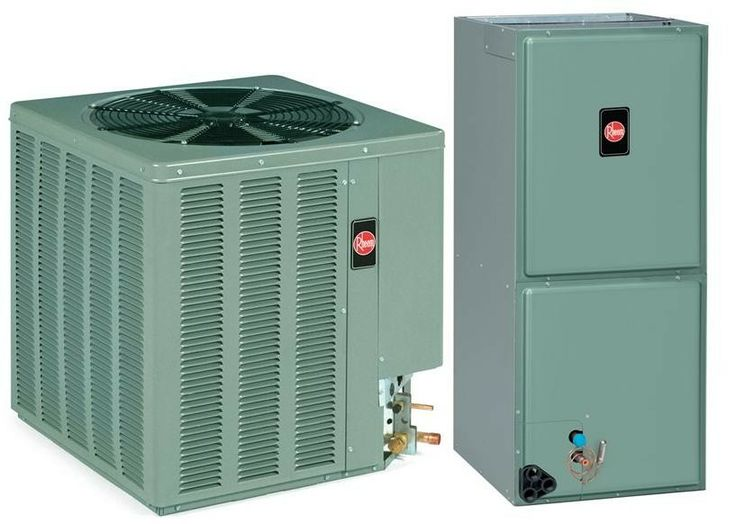 3 Ton Rheem 13 SEER R-410A Air Conditioner Split System (Value Series)