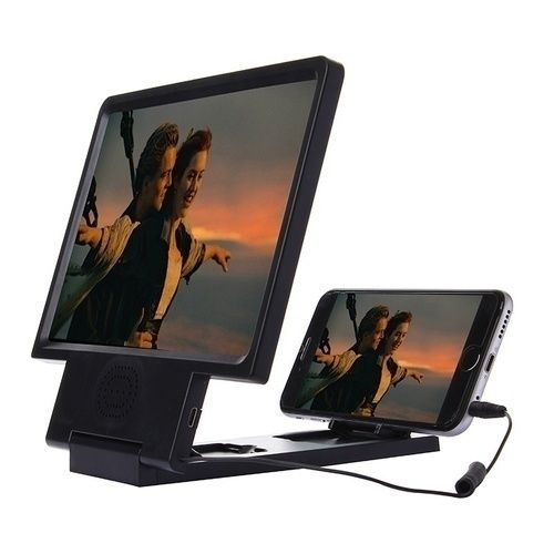 8.2 inch 3D Enlarged Screen Mobile Phone Video Screen Amplifier with Speaker Phone Holder. Starting at $1