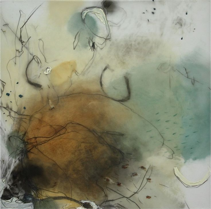 Recent paintings on mylar using luminous oils, graphite and charcoal.
