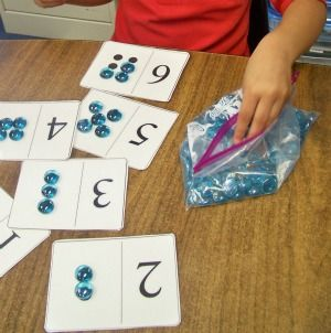 A plethora of early math games for pre-k and kinder! Awesome ideas for centers