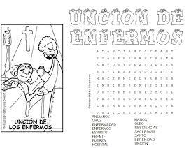 Sopas de letras de los Sacramentos de Iniciación: Sopas de letras de los Sacramentos de Sanación: Sopas de letras d...