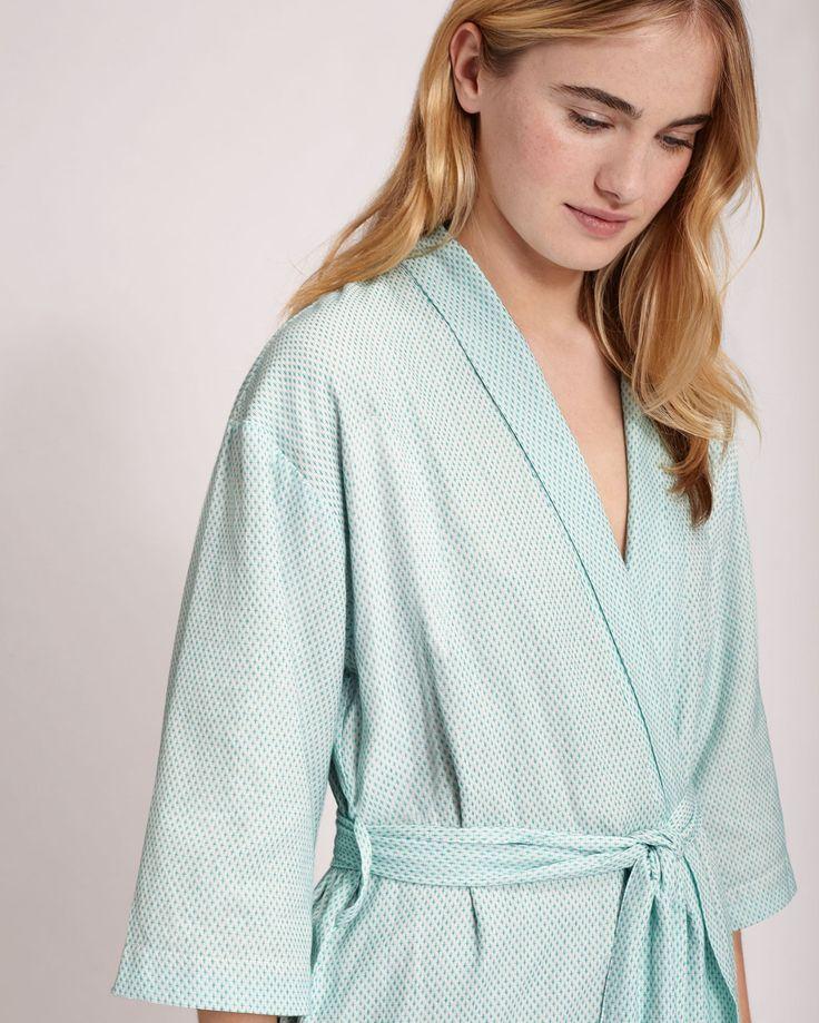 Women's Off white / Jade Cotton Gown | Toast