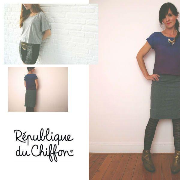 25 unique tuto jupe ideas on pinterest tuto couture - Patron couture jupe droite ...