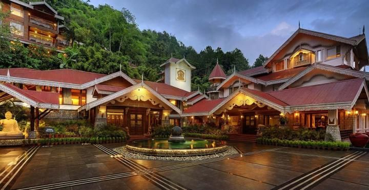 spa resort and casine, gangtok