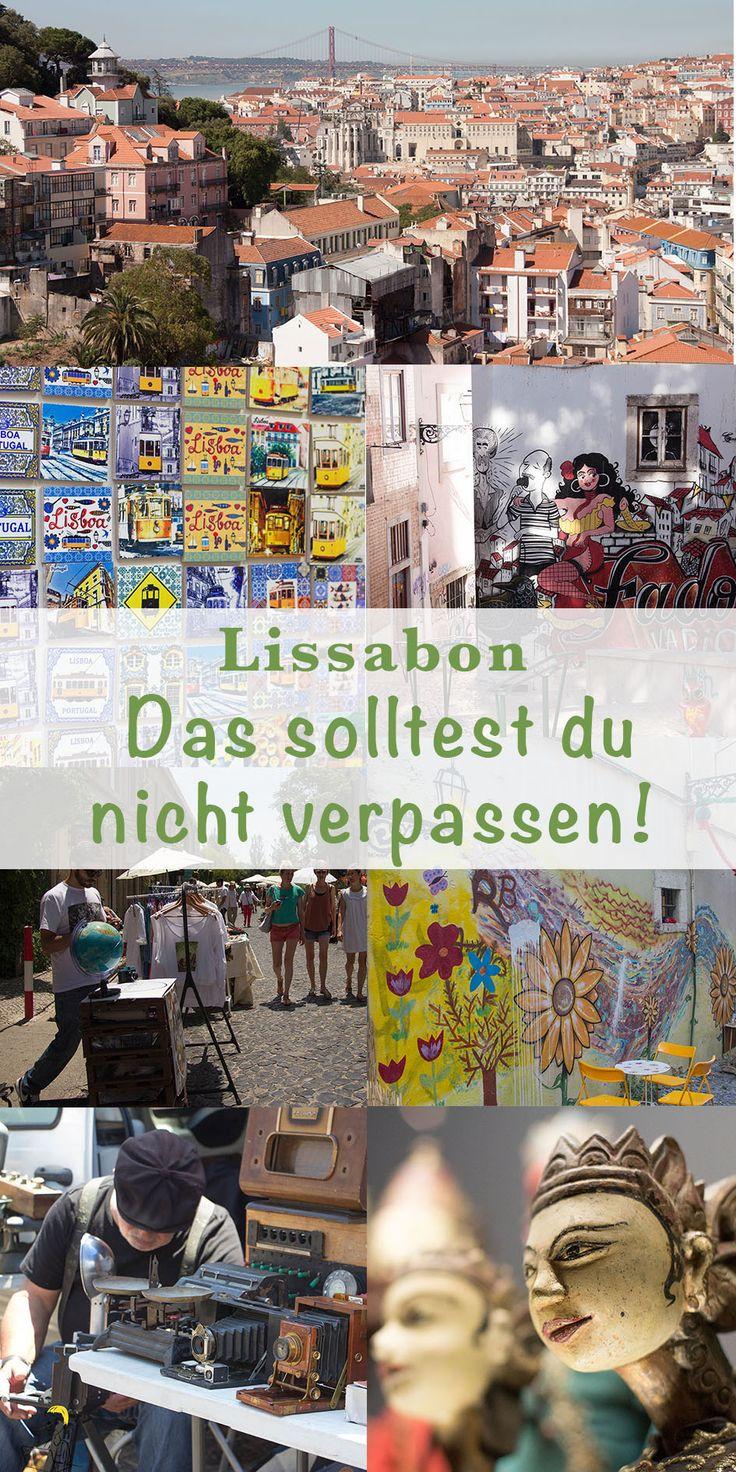 Mein Lissabon! Ich liebe diese Stadt. Und deswegen muss ich mindestens 1x im Jahr in diese wundervolle Stadt reisen. Denn hier gibt es so viel zu sehen – zum Beispiel meine 15 Lissabon Insider-Tipps, die du so in keinem Reiseführer findest.