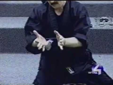Ninjutsu Master Performs Mind Over Matter (ABC TV News Story)